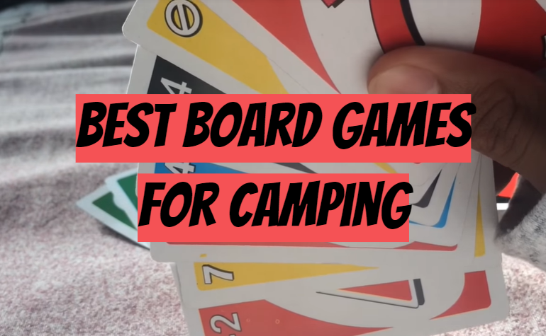 5 Best Board Games for Camping
